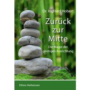Buchcover mit Balanceturm aus Steinen